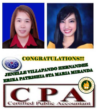 Congratulations To Our New CPAs