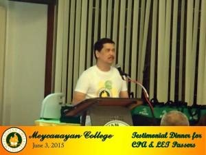 Inspirational Message by MC Mr. President Renato P. Ocampo, CPA