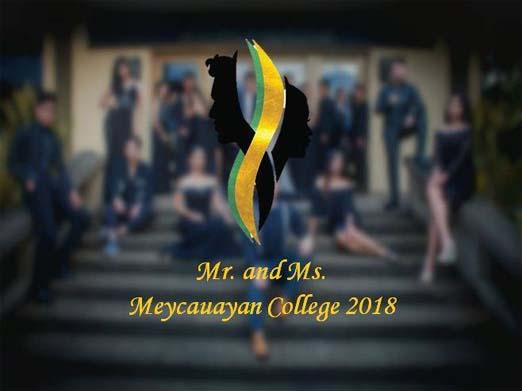 Mr. & Ms. Meycauayan College 2018 – Coronation Night