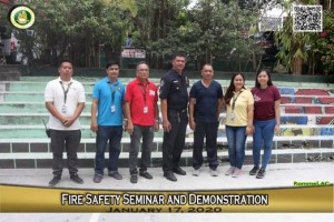 Fire Safety Seminar and Demonstration